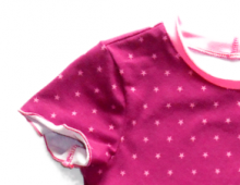Mädchenkleid Primrose (Kurzarmvariante)
