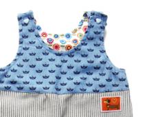 Overall für Kinder aus Jeans oder Cord