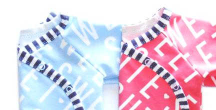 Wickeljäckchen mit Pumphose fürs Baby