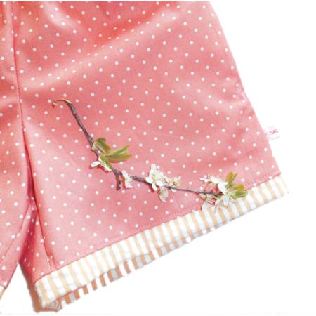Sommerhemd aus Baumwollkrepp mit Shorts