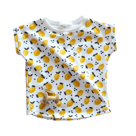 T-shirts legere geschnitten mit Zitronen